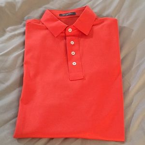 Nice Orange Men's Polo